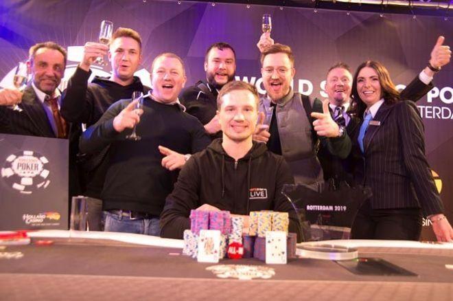 Andrei Berinov verslaat Erik de Jong en wint Main Event van WSOP Circuit Rotterdam voor €83.350