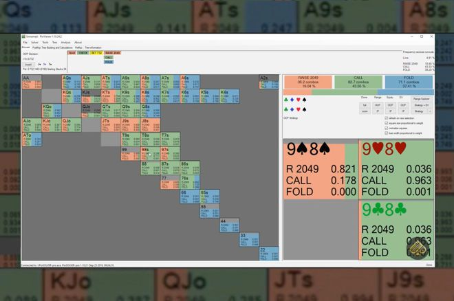 Check-Jamming a Combo Draw for 100 Big Blinds? A GTO Analysis
