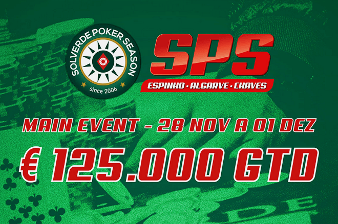 Calendário do Main Event Solverde Poker Season 2019