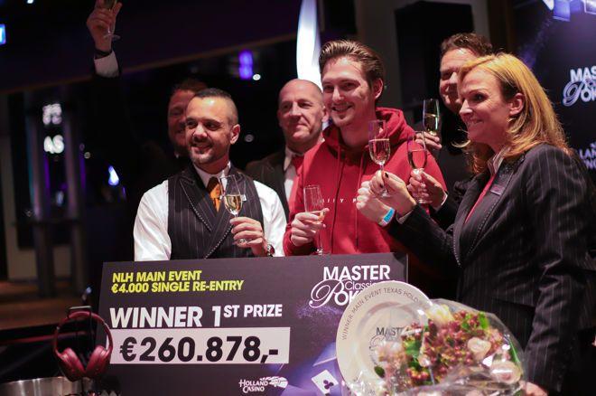 Kevin Paqué wint het 2019 Master Classics of Poker Main Event voor €260.878!