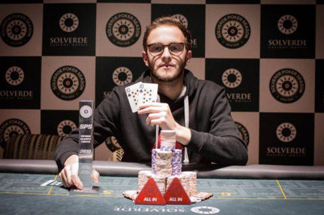 Duarte Afonso campeão do Main Event Solverde Poker Season 2019