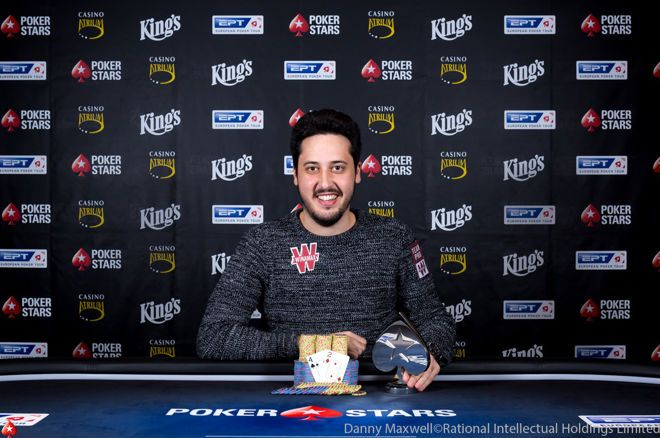 Adrian Mateos Wins the €10,300 NLHE for €177,500 at EPT Prague