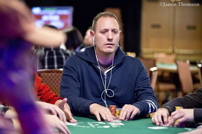 Jesse Martin is stacking at more than just the poker table these days.