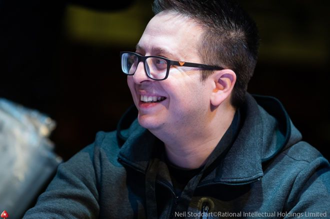 Gaby Livshitz is chip leader with five players left in the PokerStars European Poker Tour.