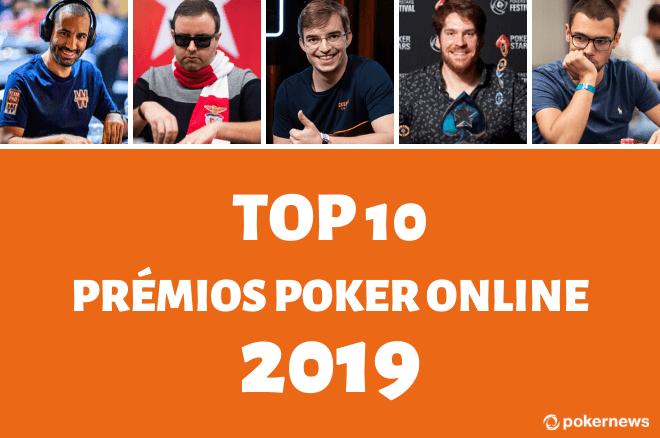 Maiores prémios portugueses nos torneios de poker online em 2019