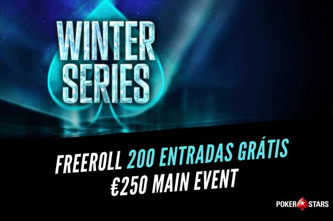 Mega freeroll com 200 Entradas para o €250 Main Event das Winter Series