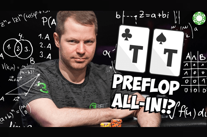 Hand Analysis: Call or Fold With Pocket Tens Versus a Preflop Shove?