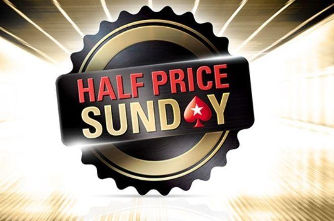 Half Price Sunday PokeStars