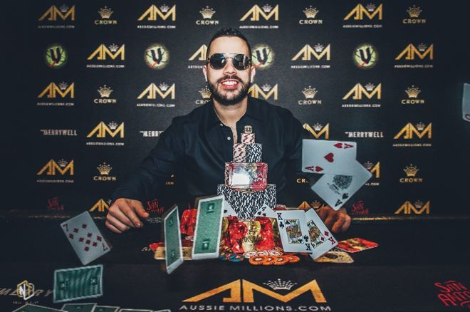Farid Jattin Wins Aussie Millions A$25,000 Challenge