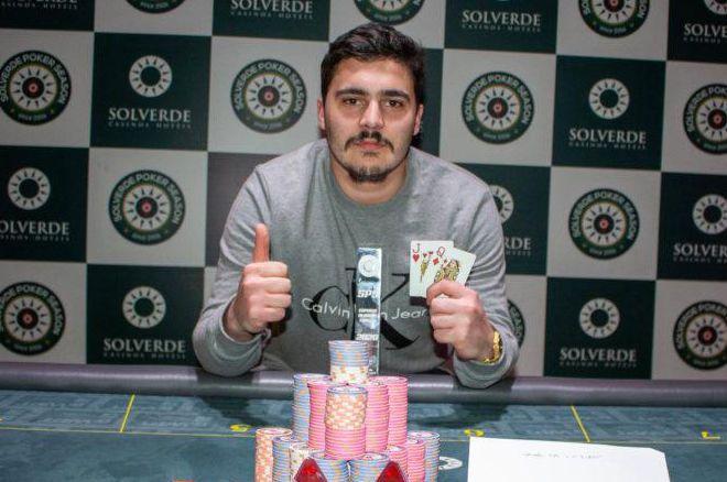 Luís Paço campeão da primeira etapa do Solverde Poker Season 2020