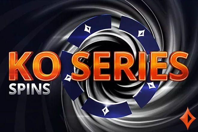 Ganhe tíquetes KO Series de até $2.100 nos SPINS especiais de $10