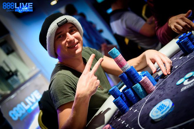 Marco D'Amico Leads 888poker Live Festival Madrid Main Event after Day 2