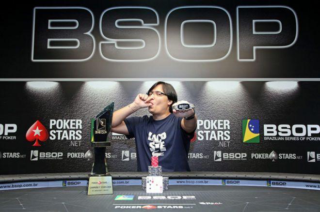 Fernando Araújo campeão do Main Event do BSOP Brasília