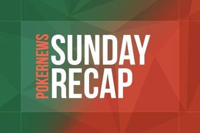 """Sunday Recap - """"strflushtome"""" casht meer dan $20k in $215BB, """"Gukiz"""" runner-up in $530 voor $67k!"""