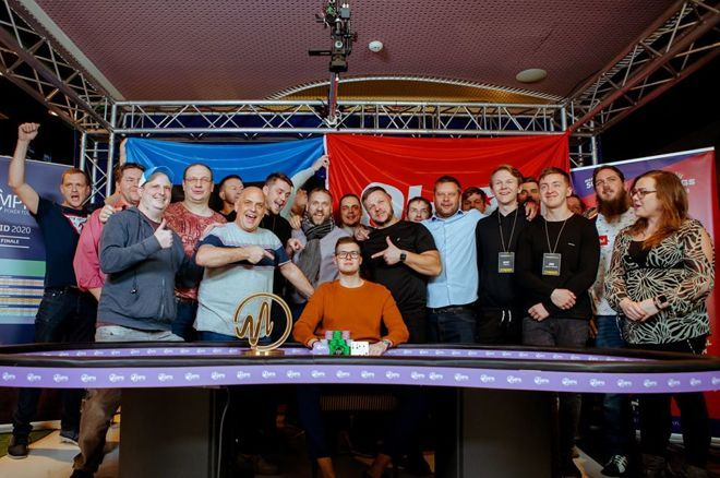 Estonia's Martin Piik takes home €52,000 for winning the final MPN Poker Tour in Madrid, Spain.