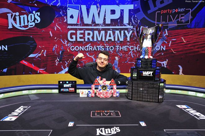 Christopher Puetz wins WPT Germany Main Event at King's Resort Rozvadov