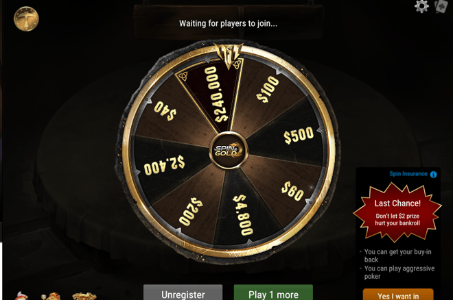 Get involved and start playing the new Spin & Gold format only on GGPoker