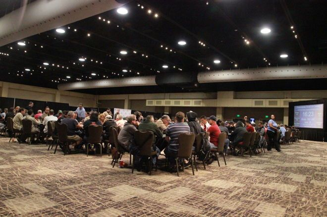 Mo Nuwwarah found himself trying to make up for a missed bluffing opportunity at Potawatomi.