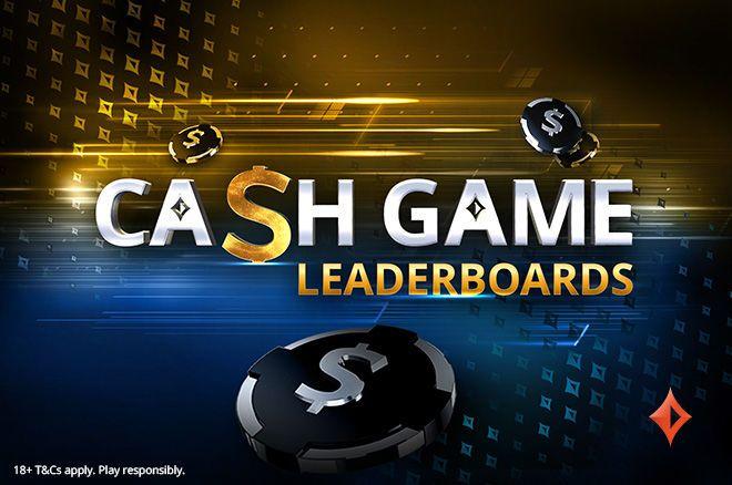 Cash game leaderboards at partypoker