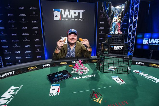 Tony Tran put his name on the WPT Champions Cup for a second time.