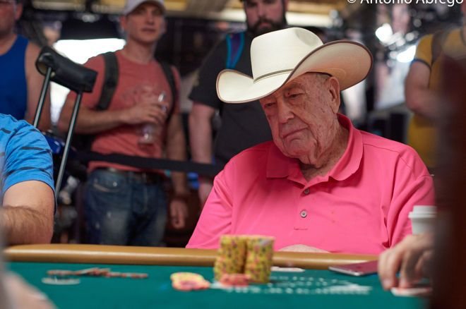 Doyle Brunson taking no chances with Coronavirus