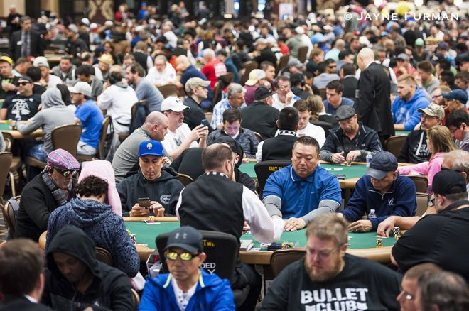 "WSOP Pavilion Room World Series of Poker Gregeory Chochon ""Too Early to make decision"" 2020 WSOP"