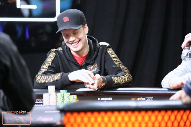 Joni Jouhkimainen wins $92,000 playing in the partypoker POWERFEST Super High Roller