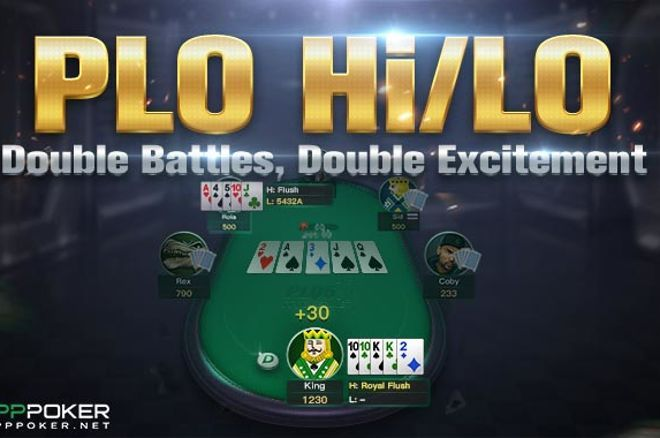 PPPoker introduces Pot Limit Omaha Hi/Lo Club Game Option