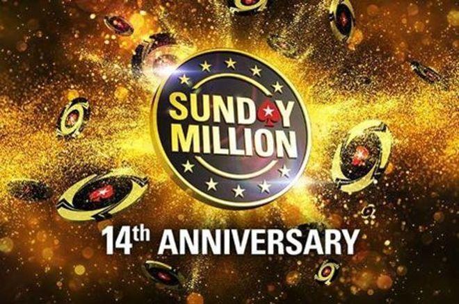 """Sunday Million Anniversary - """"AAAArthur"""" wint voor $1,19 miljoen, """"luckyjoy1984"""" tiende voor $49k"""