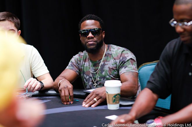 Kevin Hart has switched allegiances to partypoker.