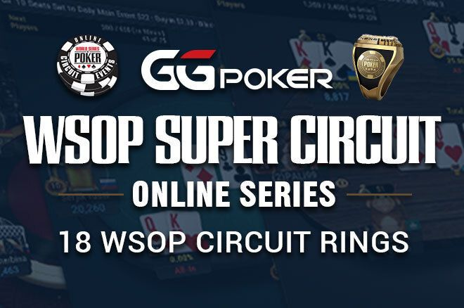 GGPoker And WSOP Collaborate On WSOP Super Circuit Online Series