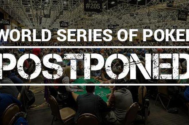 WSOP 2020 се отлага