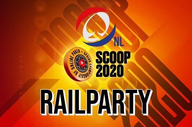 "PokerNews.nl lanceert ""SCOOP 2020 Railparty"" op Twitch!"