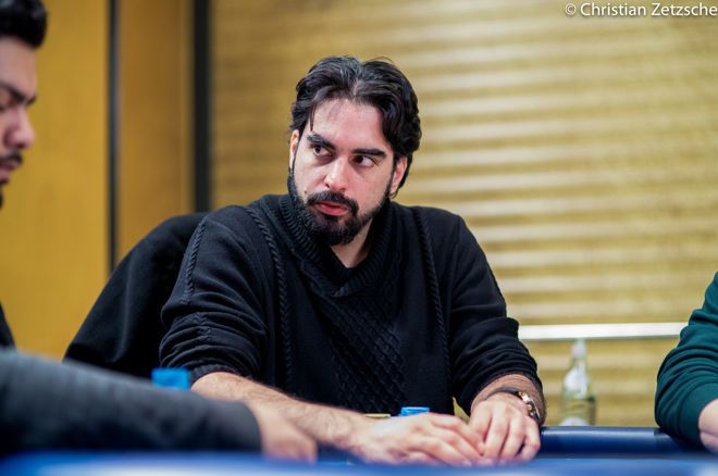 Alexandros Kolonias cashed 11 times at Poker Masters to win the points race.