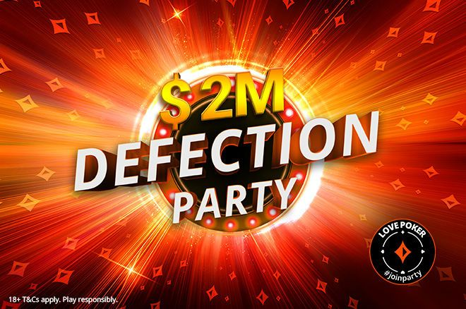 partypoker Defection Party