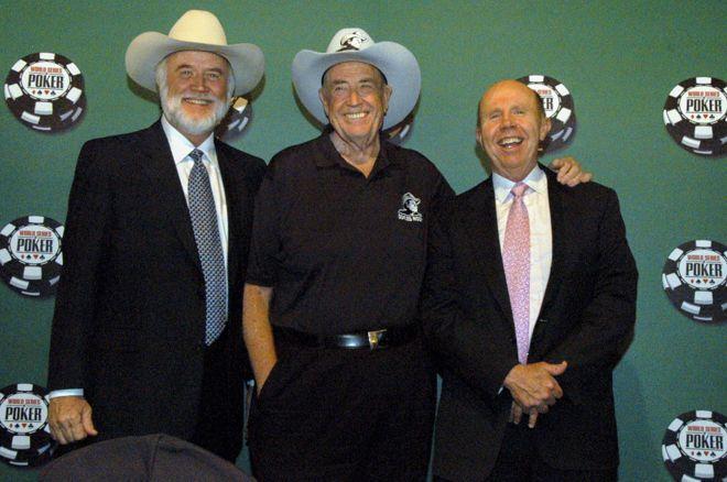 Crandell Addington, Doyle Brunson & Jack Binion