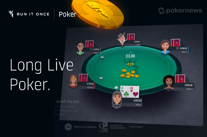 Cash Booster Returns to Run It Once Poker; Earn An Extra €500!