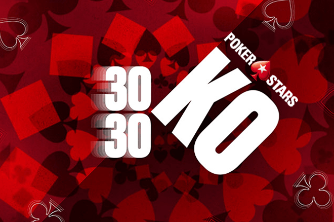 8 torneios e €720K GTD no último domingo 30/30 da PokerStars.pt
