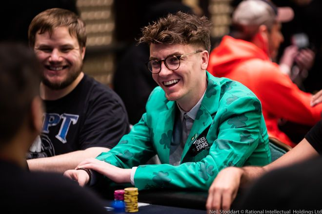 "PokerStars ambassador Fintan ""EasyWithAces"" Hand wins SCOOP event"
