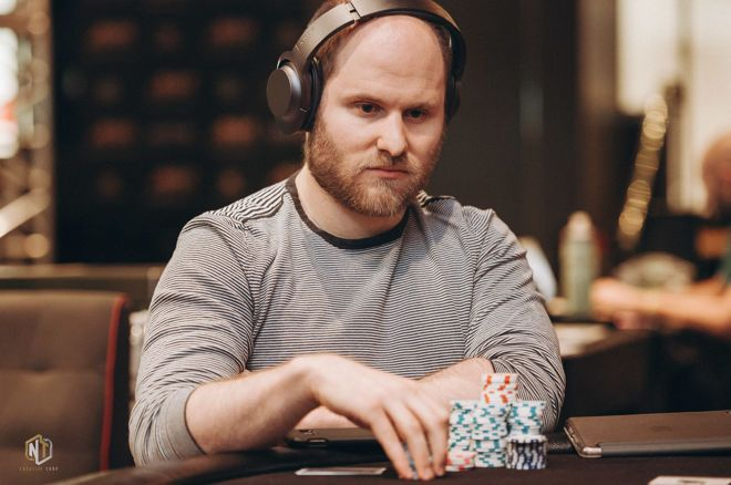 Sam Greenwood leads the final 35 players in the WPT Online Championship