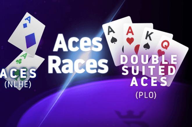 Jalankan Sekali Poker Aces Races menghasilkan pelanggan rakeback ekstra 25%
