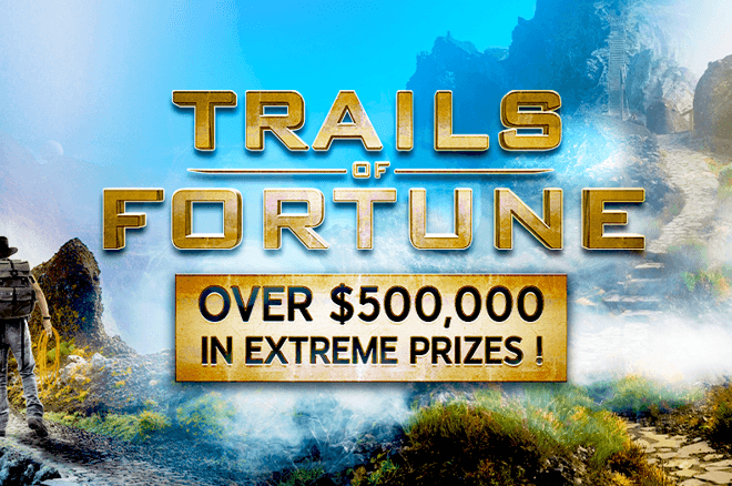 Players can choose from three different freerolls to win a share of over $500,000 in prizes in the 888poker Trails of Fortune