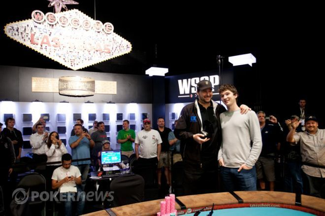 Phil Hellmuth captured his 12th bracelet in $2,500 Razz.