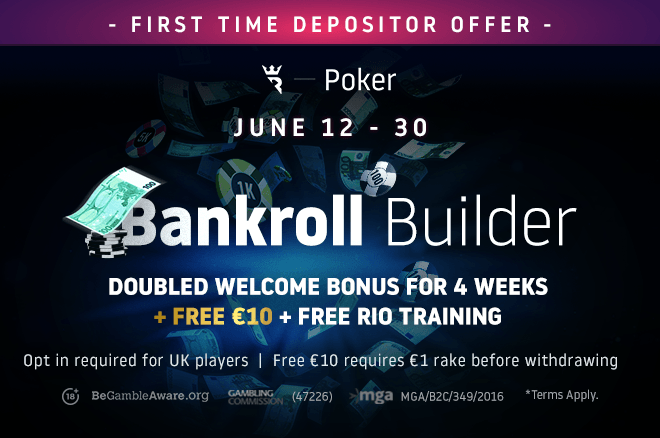 First-time depositors will receive a bunch of extra treats on Run It Once Poker all this month