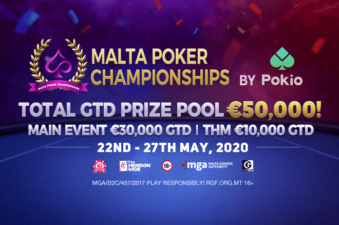 "Pokio-Hosted Malta Poker Championships Online ""Surpass All Expectations"""