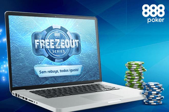 Freezeout Series começam hoje na 888poker - 9 dias de poker, 24 torneios & €219K GTD