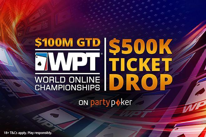 WPT $500K ticket drop