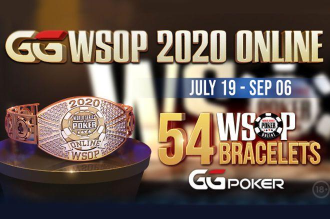 Calendário WSOP Online 2020 da GGPoker