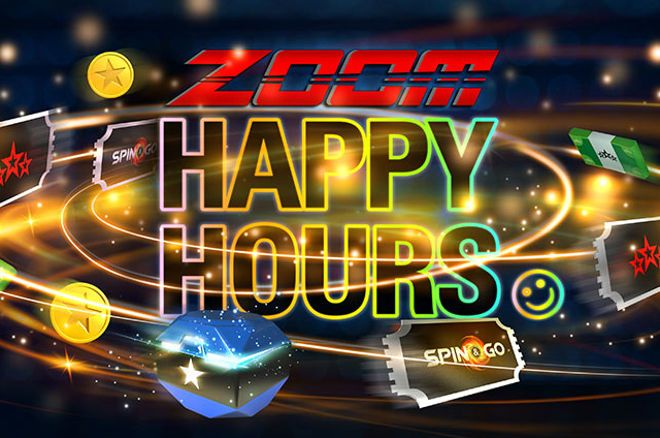 Happy Hours nas mesas de Zoom Poker da PokerStars.pt