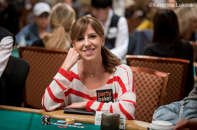 Two-time WSOP champion Kristen Bicknell says she aims to add a few more WSOP bracelets to her collection in the future